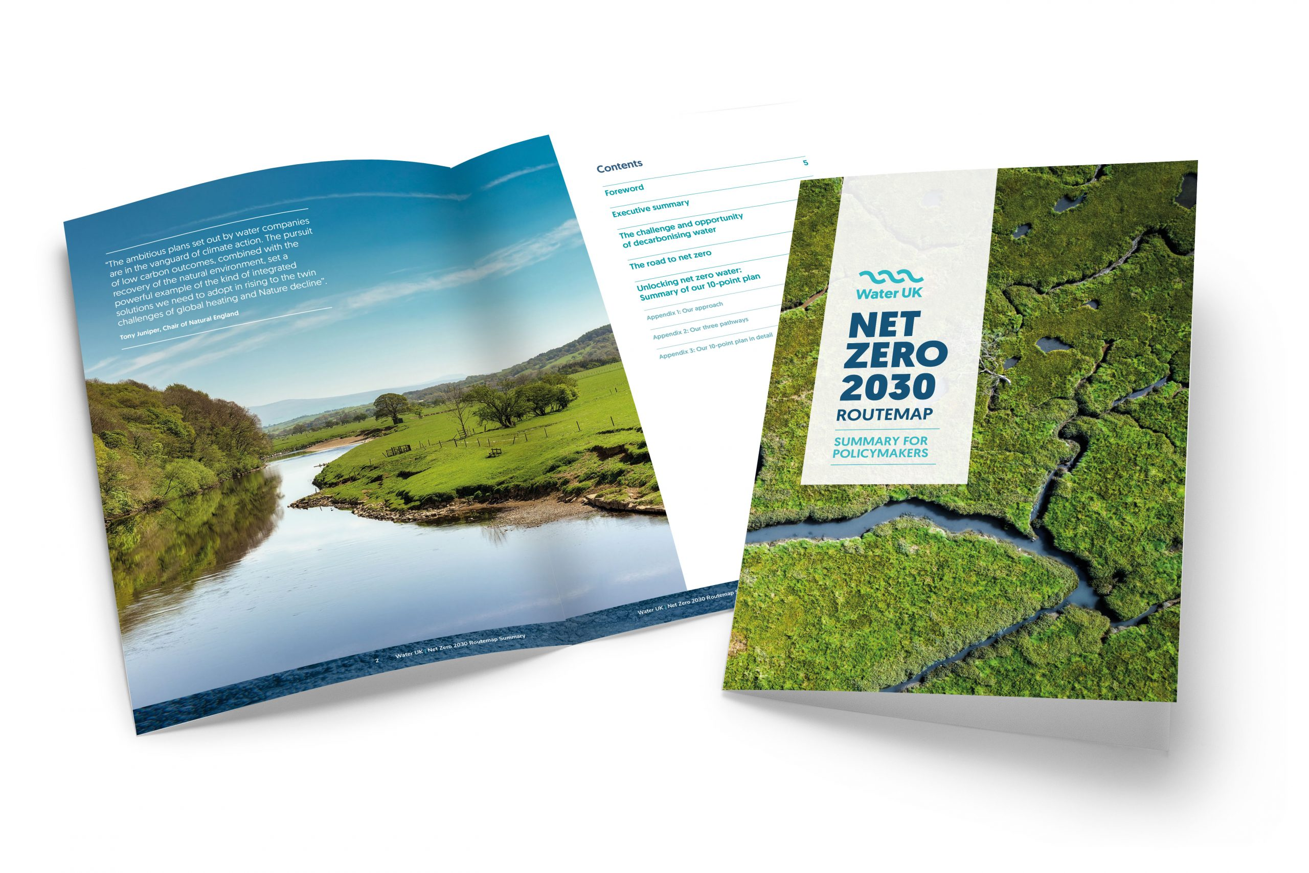 Unlocking net zero water: Summary of our 10-point plan